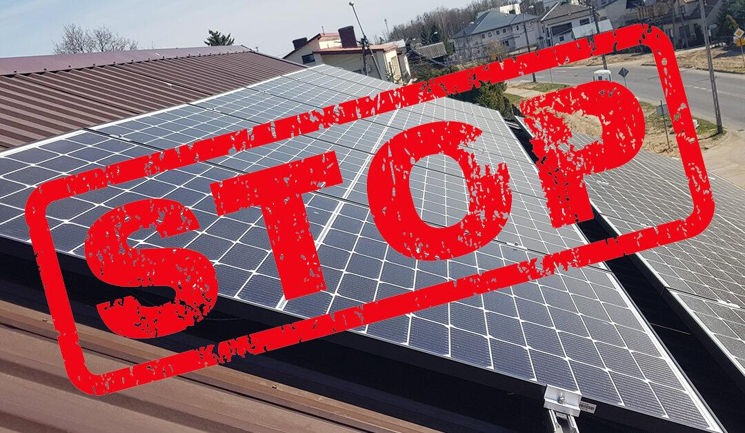 5 powodów kiedy nie warto inwestować w instalacje PV na Podlasiu?